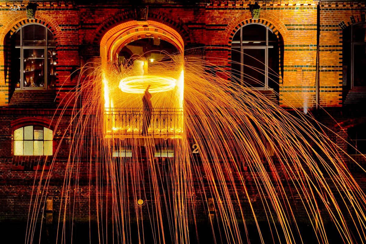 Stahlwolle in der Hamburger Speicherstadt. Fotografiert von Danny Koerber für Sehnsucht der Augen.