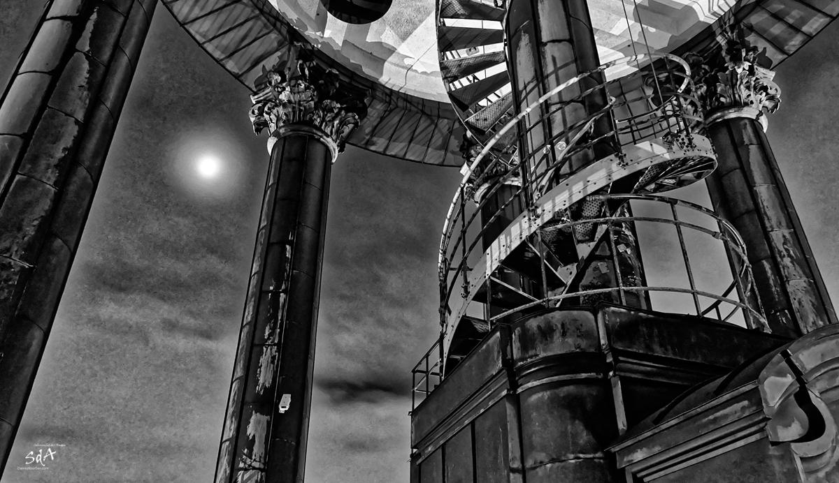 St.Michaelis ein Hamburger Wahrzeichen, Der Blick von St Michaelis, Danny Koerber, Sehnsucht der Augen, Architektur, Kirche, Hamburg, Stadt,