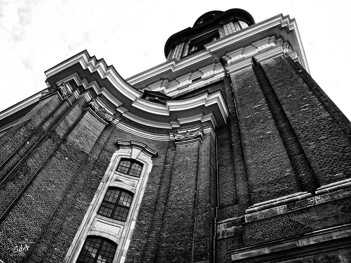 St.Michaelis ein Hamburger Wahrzeichen, Der Hauptturm von St Michaelis, Danny Koerber, Sehnsucht der Augen, Architektur, Kirche, Hamburg, Stadt,