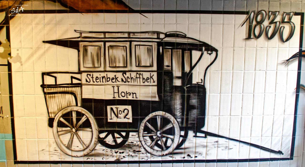 1833 erste Horner Kutschenverbindung fotografiert von Danny Koerber für Sehnsucht der Augen.