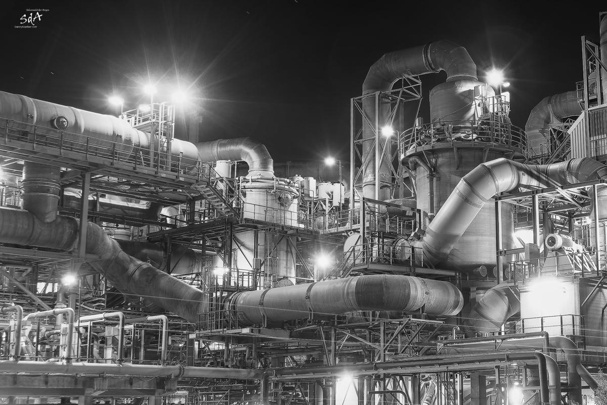 Leitungswerk im Hamburger Kupferwerk, Industriearchitektur fotografiert von Danny Koerber für Sehnsucht der Augen.