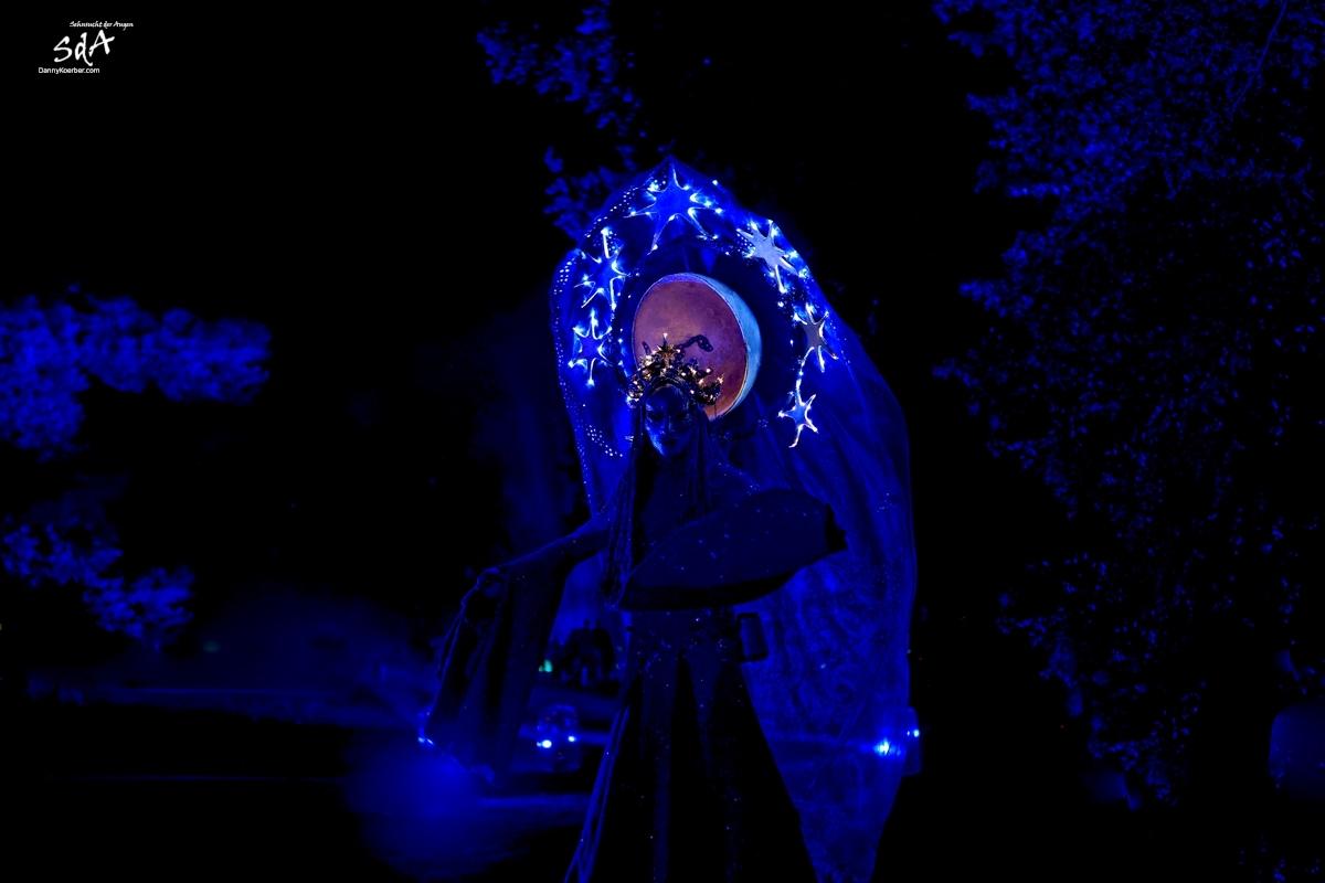 Nachtfee bei der Schweriner Märchennacht, fotografiert von Danny Koerber für Sehnsucht der Augen.