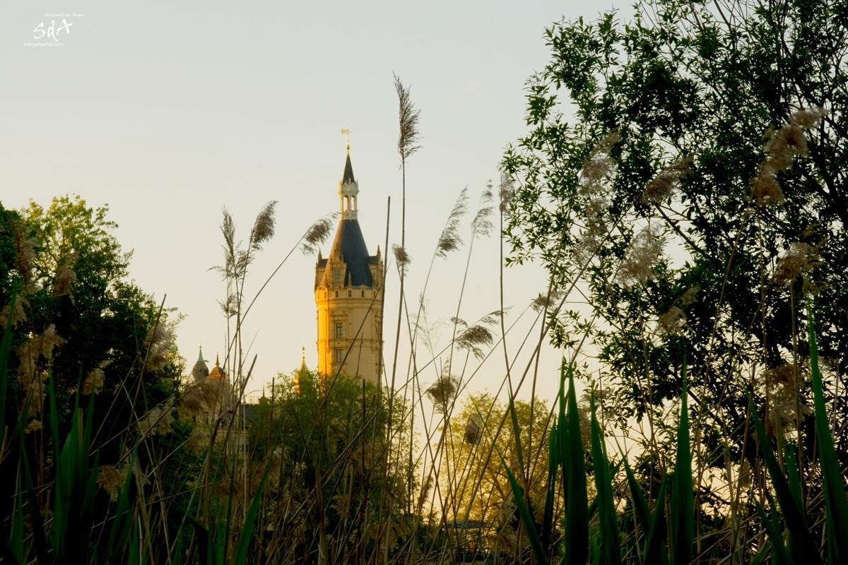 Westturm des Schweriner Schlosses, fotografiert von Danny Koerber für Sehnsucht der Augen.