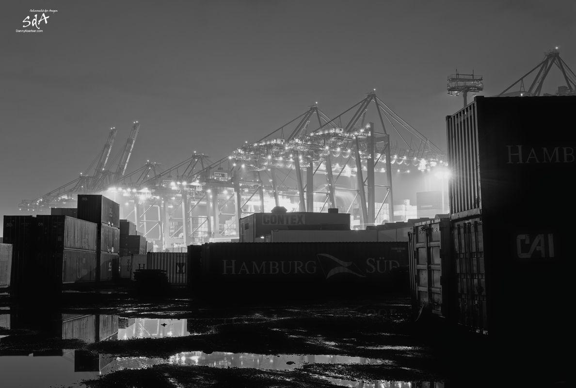 Steinwerder Container Kai, Industriearchitektur fotografiert von Danny Koerber für Sehnsucht der Augen.