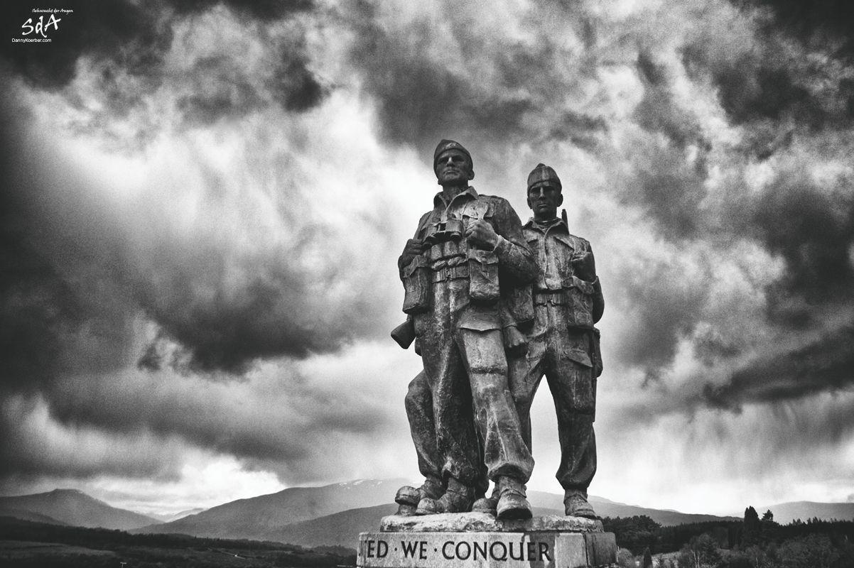 Commando Memorial in Lochaber Schottland, fotografiert von Danny Koerber für Sehnsucht der Augen.