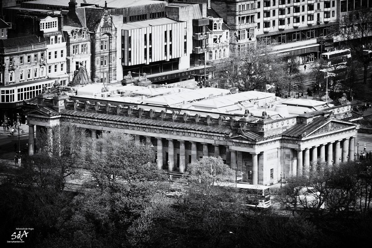 Royal Scottish Acadamy Edinburgh, fotografiert von Danny Koerber für Sehnsucht der Augen.