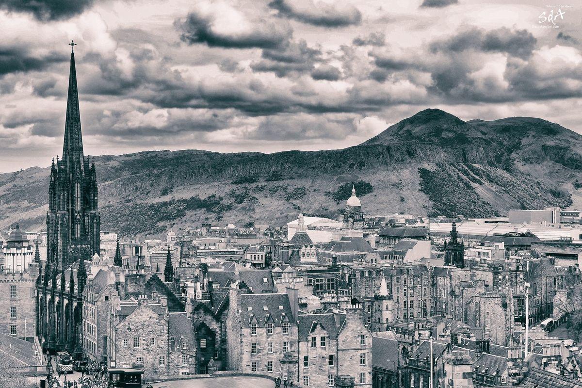 St Columba's by the Castle Scottish Episcopal Church, fotografiert von Danny Koerber für Sehnsucht der Augen.