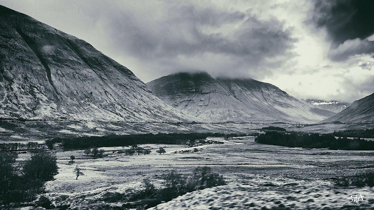 Vorberge von Ben Vorlich in Schottland, fotografiert von Danny Koerber für Sehnsucht der Augen.