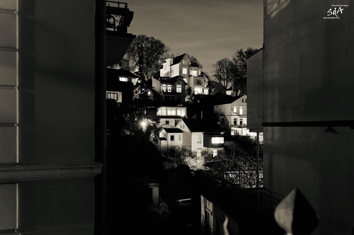 Hamburg-Blankenese-Am-Hang, Architektur fotografiert von Danny Koerber für Sehnsucht der Augen.