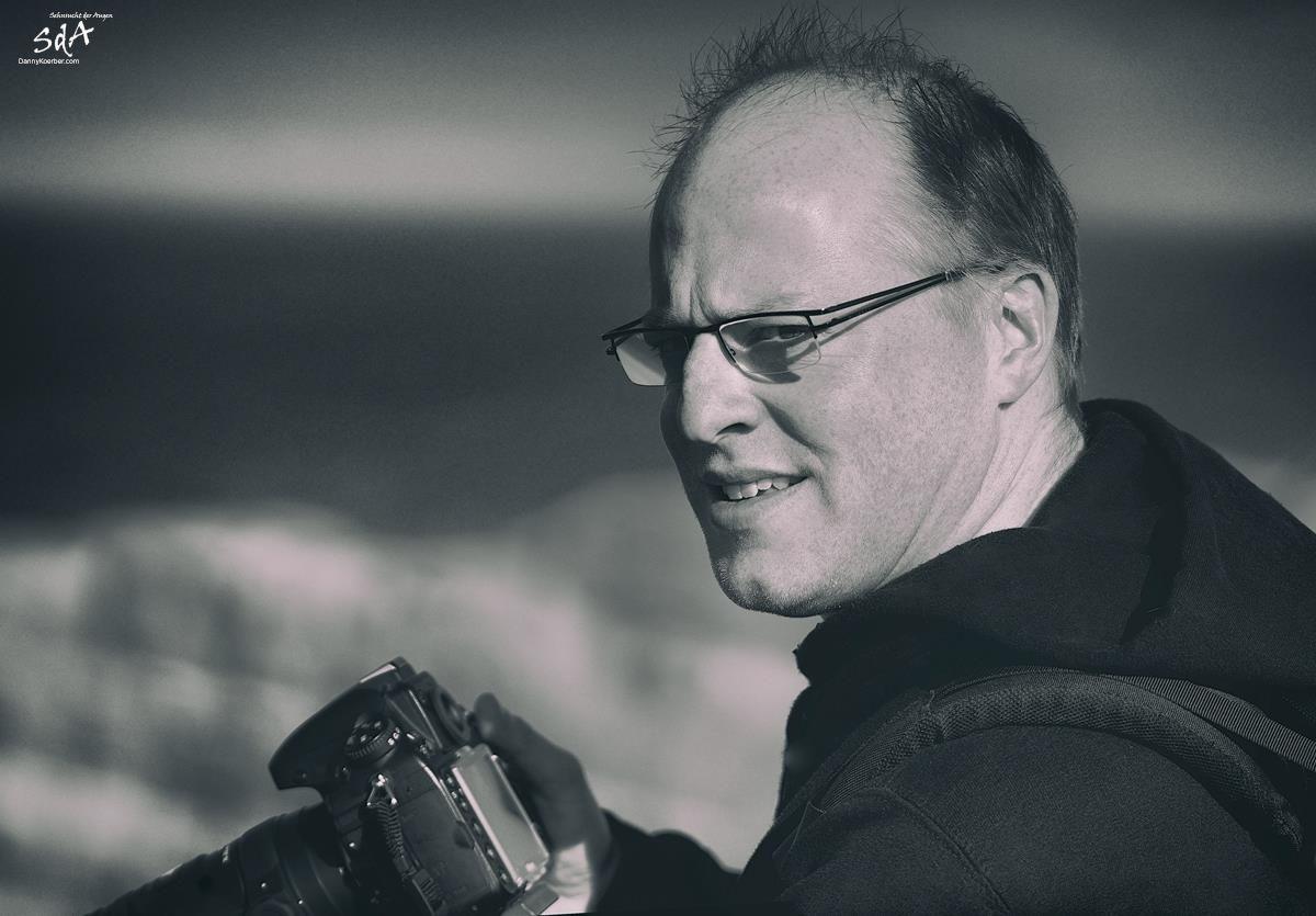 Portrait eines Fotografen, Portrait fotografiert von Danny Koerber für Sehnsucht der Augen.