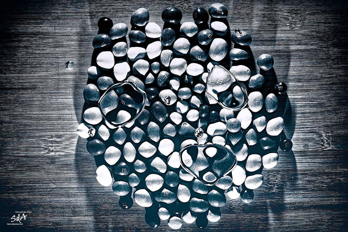m&m, fotografiert von Danny Koerber für Sehnsucht der Augen in schwarz weiß
